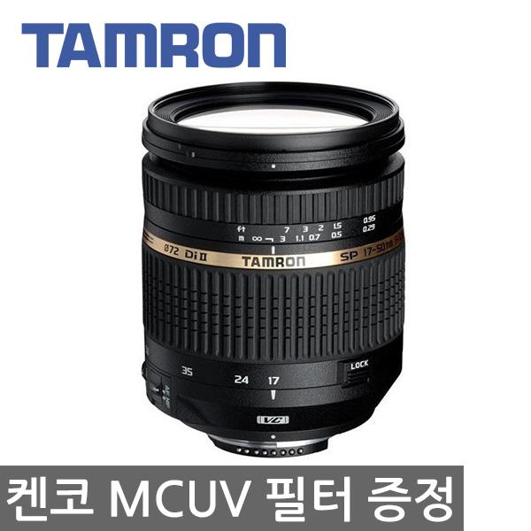 탐론 정품 SP 17-50mm F2.8 VC B005 켄코 MCUV 필터 증정, 캐논 마운트 + 켄코 MCUV 필터 72mm