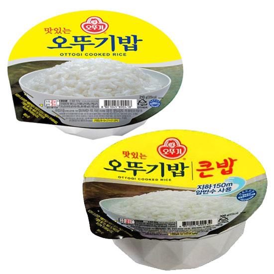 오뚜기 오뚜기밥 8개(쌀밥4개+큰밥4개), 8개