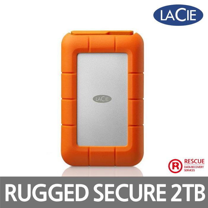 Lacie Rugged Secure C-Type USB3.1 2TB 외장하드