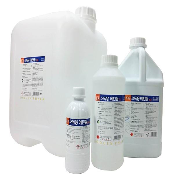 조은팜 소독용 에탄올 4L