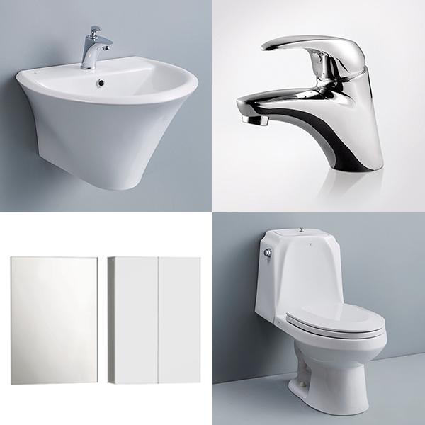 로얄앤컴퍼니 욕실리모델링 욕실부분시공상품(4종 중 택1), 1종