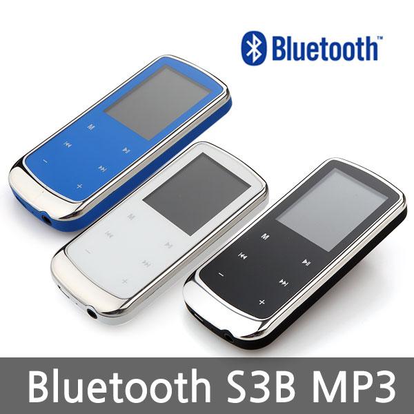 엠피리버 S3B MP3 블루투스 FM 정전식터치 녹음 내장스피커, 블루, 4GB