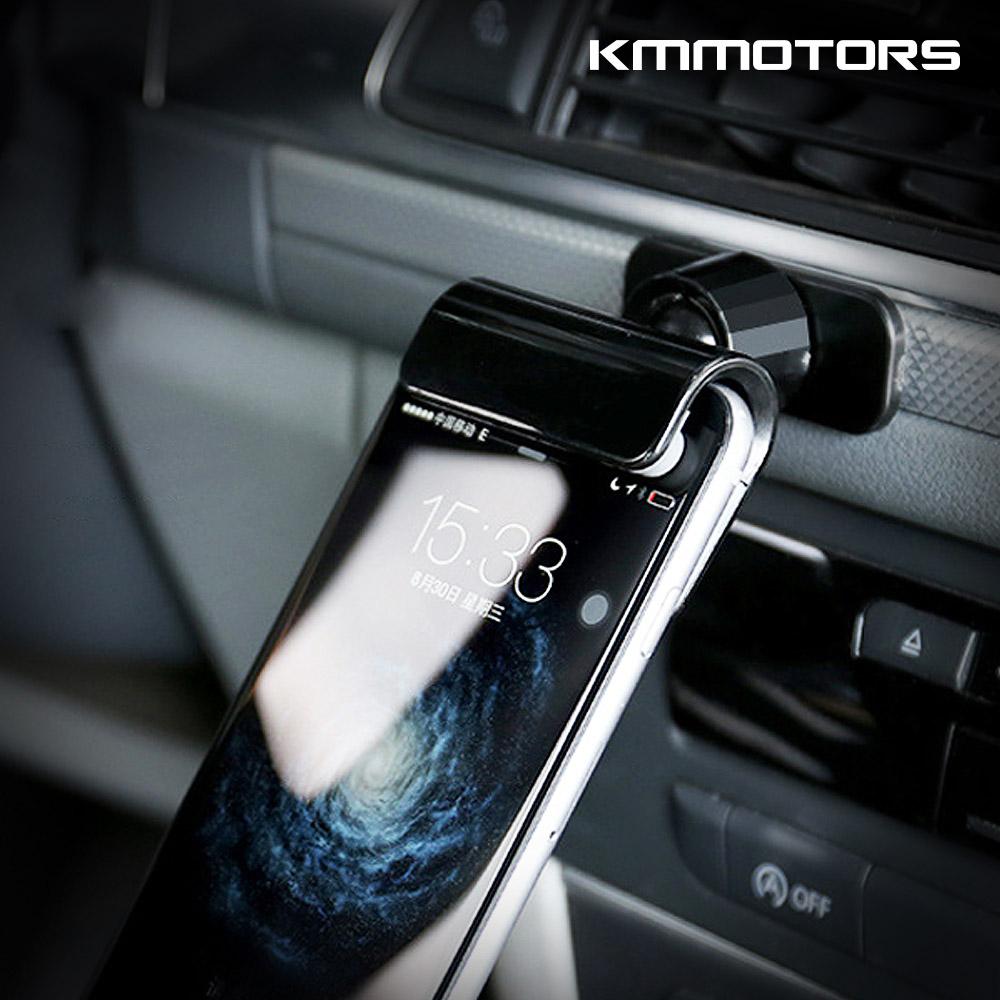 케이엠모터스 무중력 스마트폰 거치대 차량용 핸드폰, 1P