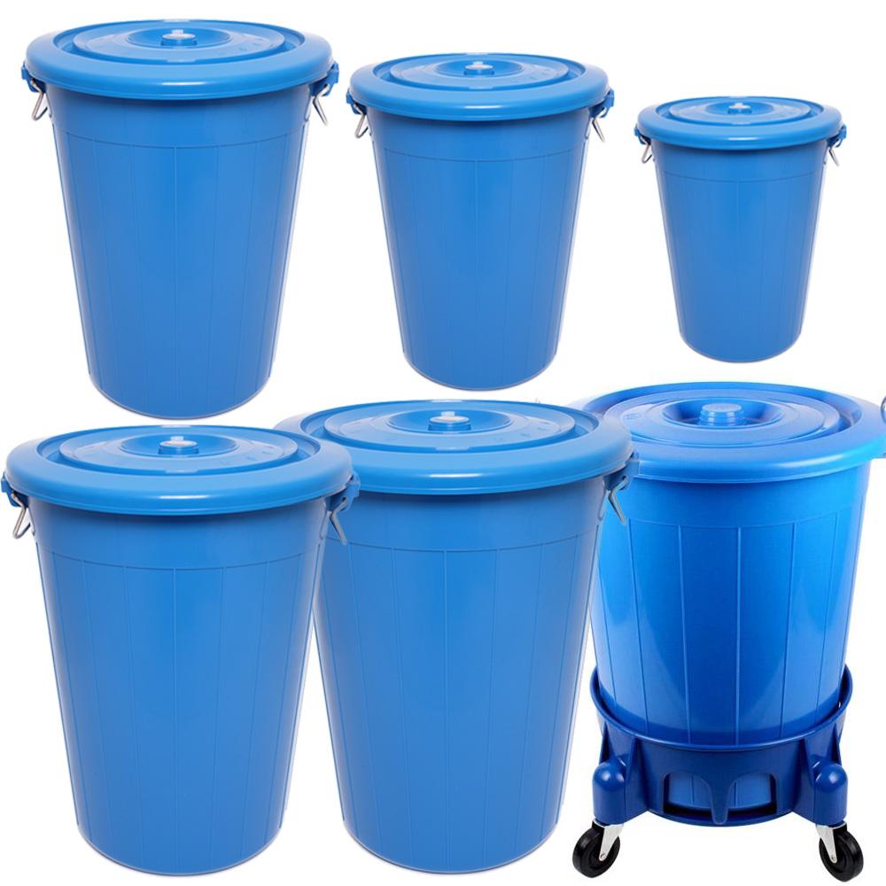 크린메이트 플라스틱통 만능용기 대형통 청통, 블루30L, 1개