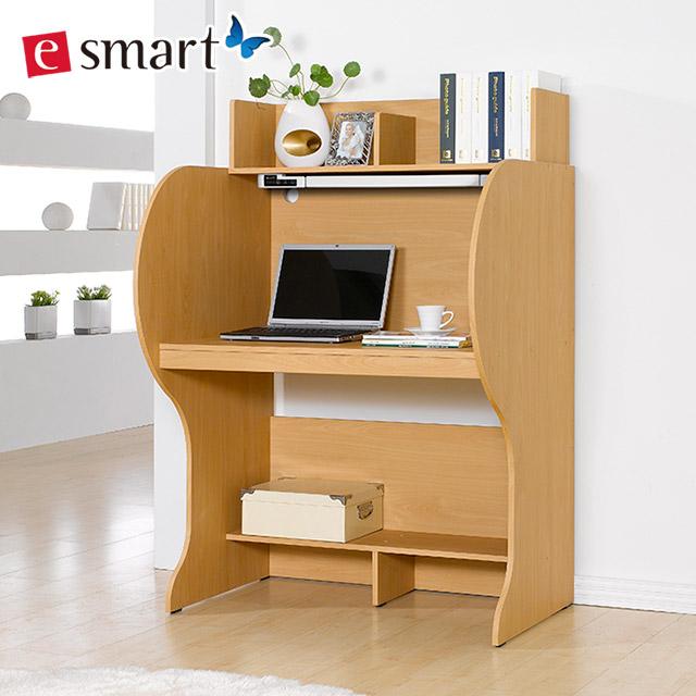 이스마트 엘리트 와이드 930 독서실책상 + LED스탠드, 메이플