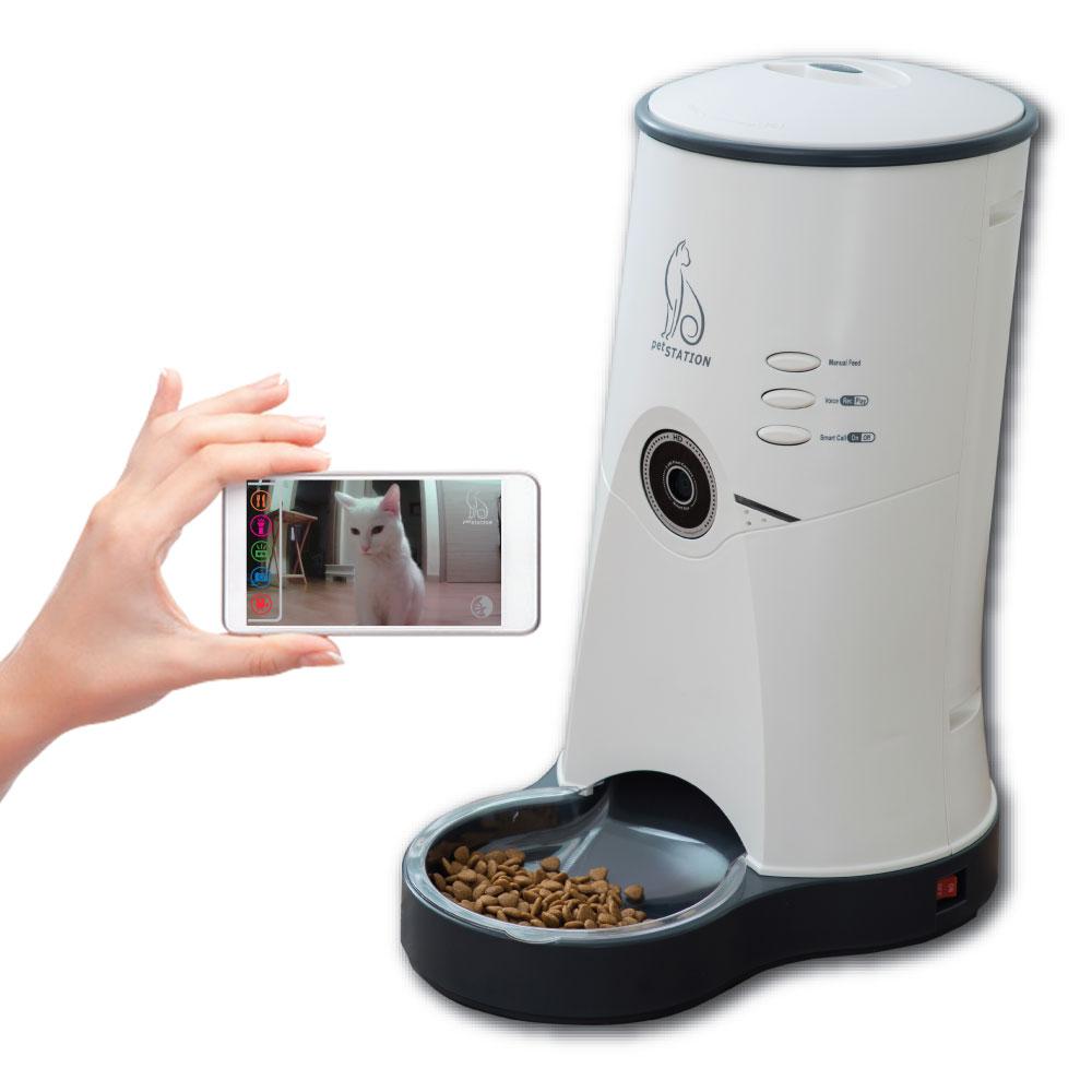 펫스테이션 반려동물 영상자동 급식기 애완용품, 1대