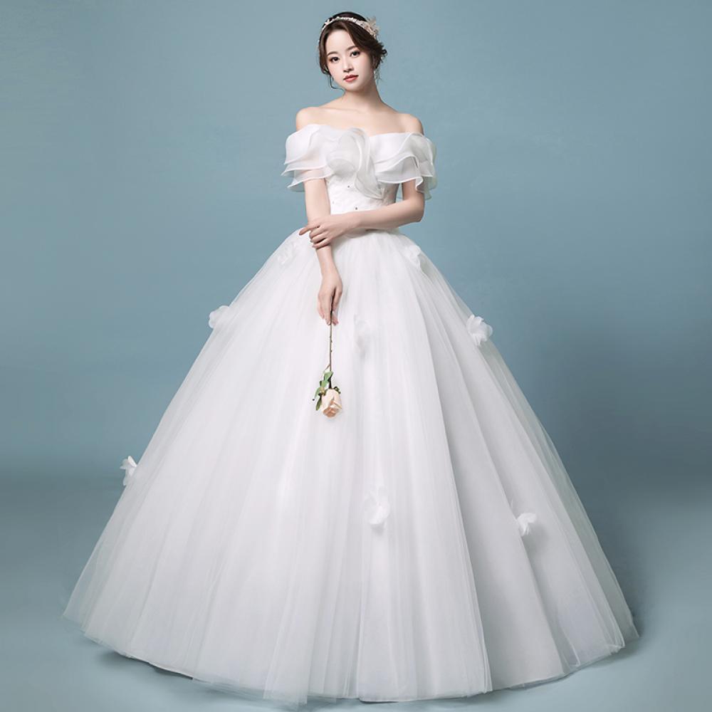 BABI LN 웨딩 드레스 스몰 리마인드 셀프 빅사이즈 566395390449