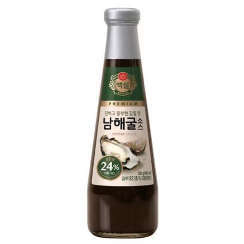(상온)백설 남해굴소스500g, 500g, 1개