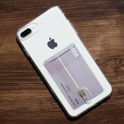 아이폰 투명 카드 케이스