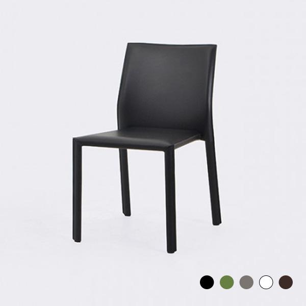 로이퍼니처랩 브리스 사각 등받이 가죽 1인 의자, 블랙