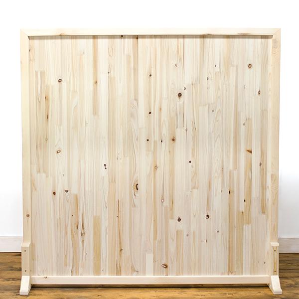 아이베란다 삼나무 원목파티션, 300x900mm(지지대별도)