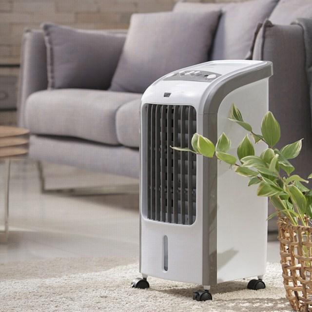 초절전 공기청정 에어쿨러 이동식 냉풍기, L8(버튼식)