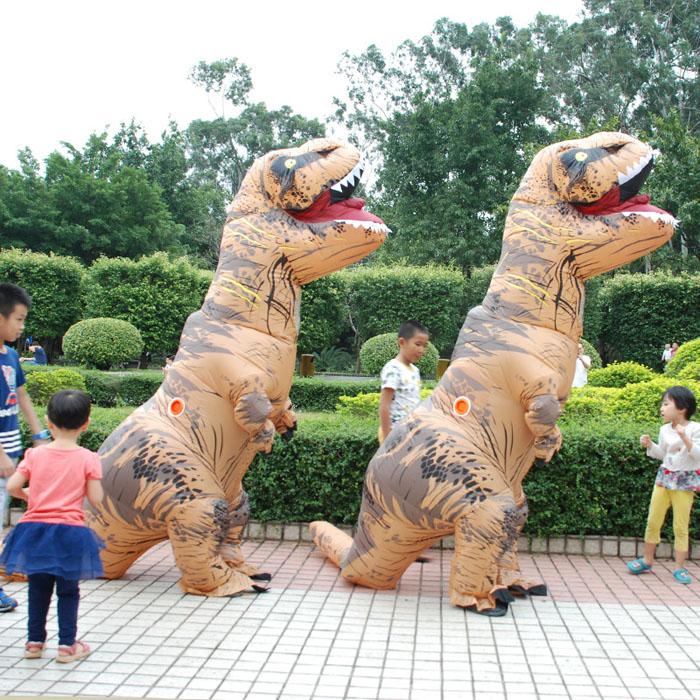 티라노사우르스 공룡 풍선 옷 에어 슈트 코스튬 8종