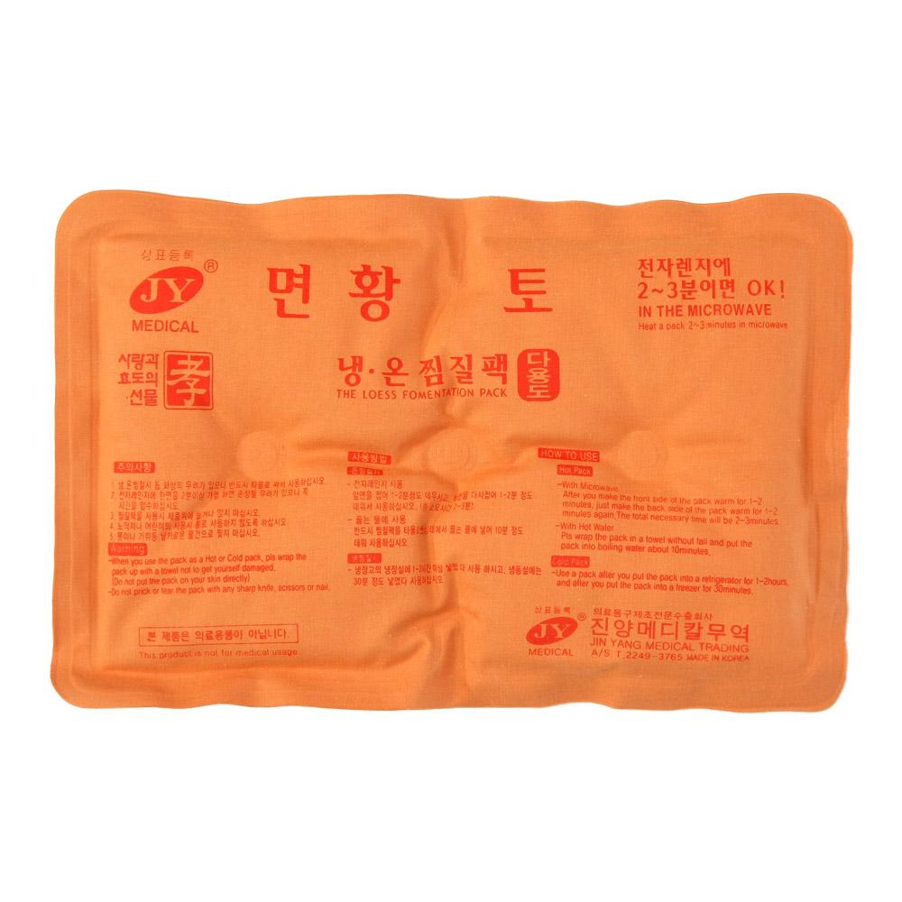 JY메디칼 황토 냉온 찜질팩 면팩 다용도 1+1, 1세트