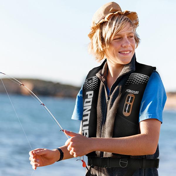 수상 안전 레저용 자동팽창식 낚시 구명조끼 BKSL