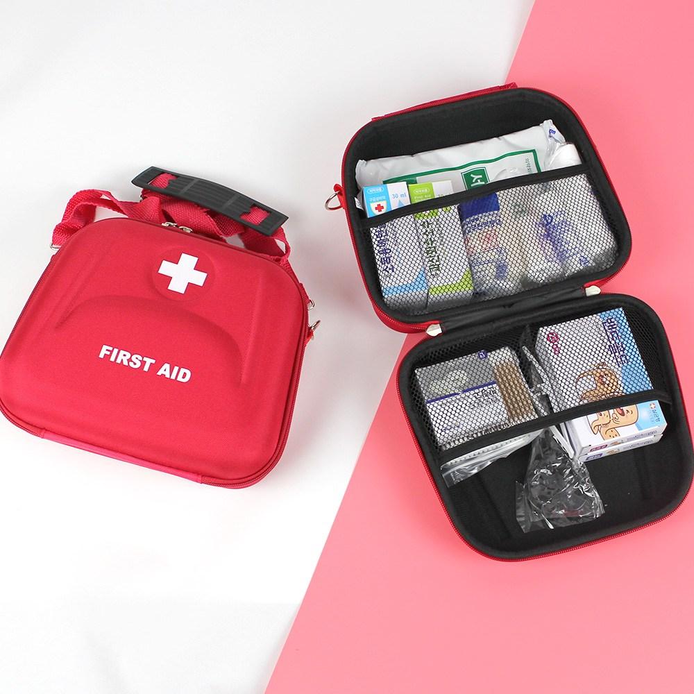 만타 휴대용 구급가방 약품세트 13종, 1개 (POP 67699925)
