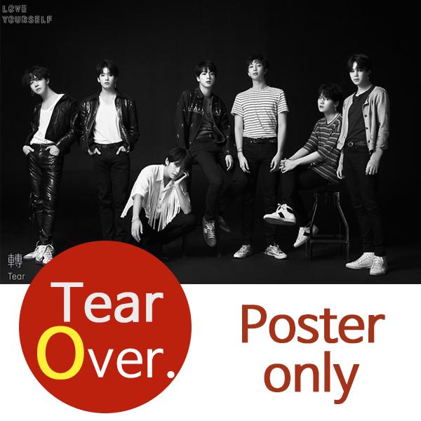 (O포스터) 방탄소년단 BTS Tear FAKE LOVE (O ver.)
