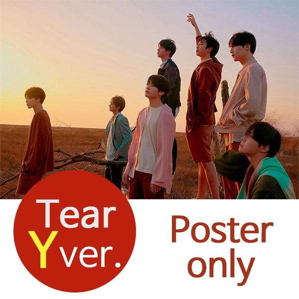 (Y포스터) 방탄소년단 BTS Tear FAKE LOVE (Y ver.)