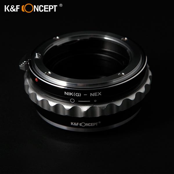K&F Nikon G 렌즈 -SONY NEX 바디 초정밀 렌즈변환어댑터