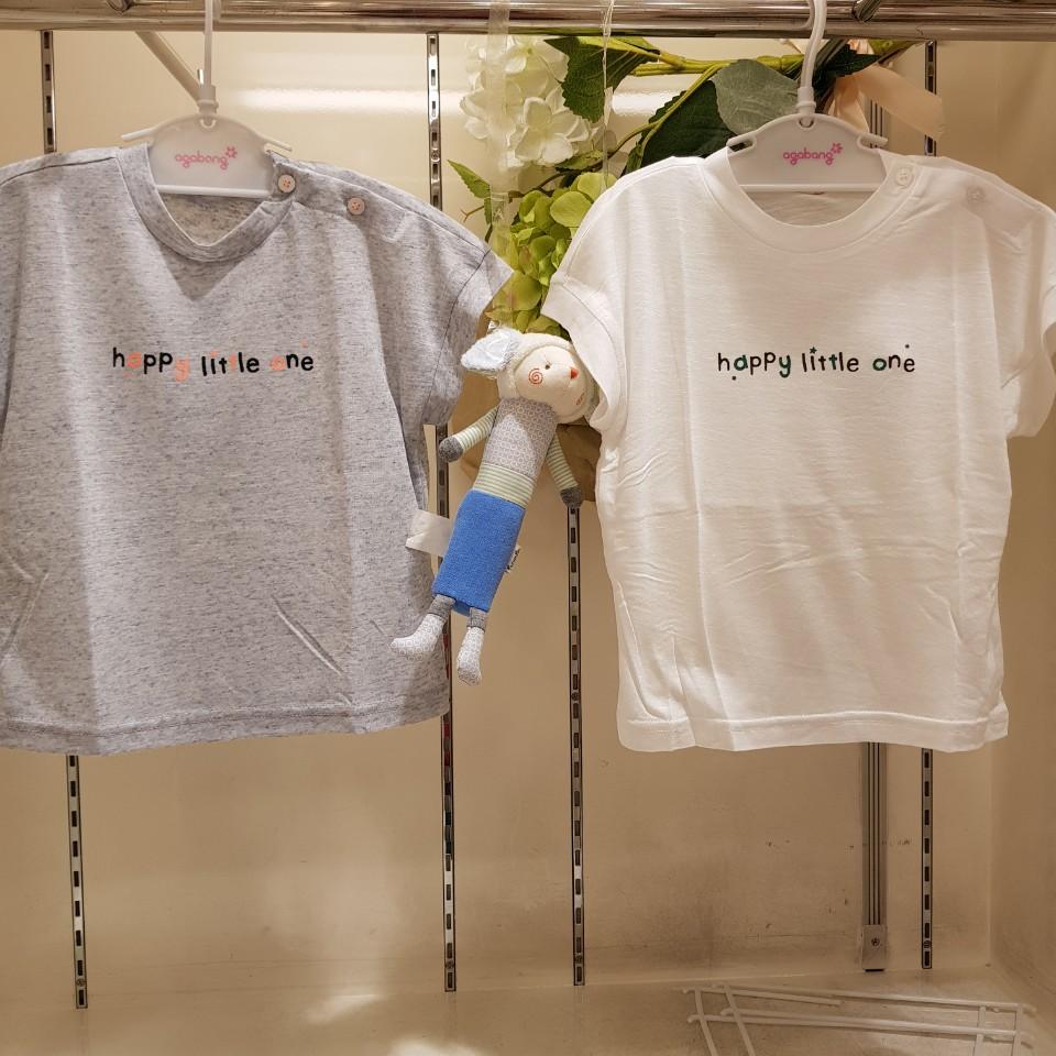 아가방 초특가 여름 베이비페어! 기본 베이직 티셔츠 이건 사도사도 부족해 바람슝슝시원 차르르 몸에 붙지않는 깔끔이 반팔 티셔츠!