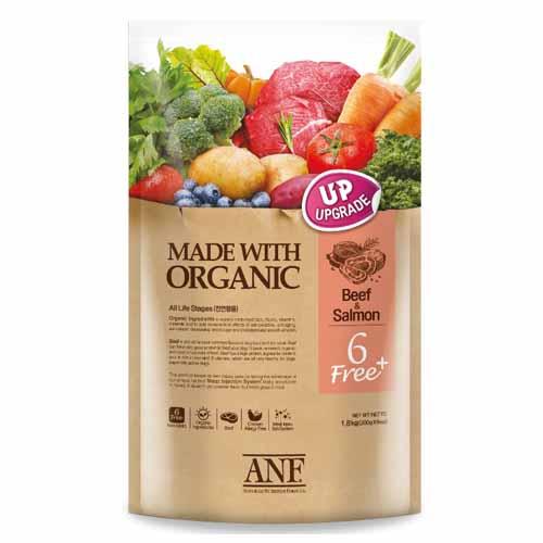ANF 유기농 6Free 플러스 소고기 강아지사료애견, 6kg, 1개