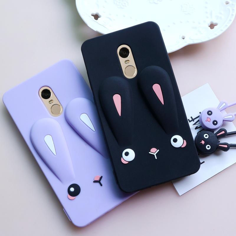 샤오미 홍미노트5 실리콘 토끼 케이스