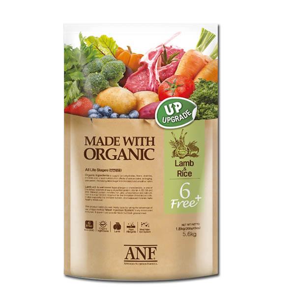 ANF 6FREE PLUS 양고기쌀 5.6kg 강아지사료, 1개