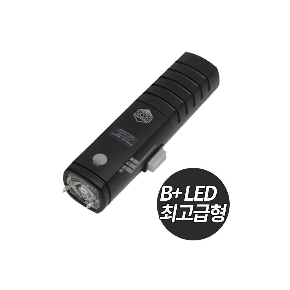 에스코트 ESP-1 호신용품 전기충격기 최고급파워B+형 최면LED 다크블랙