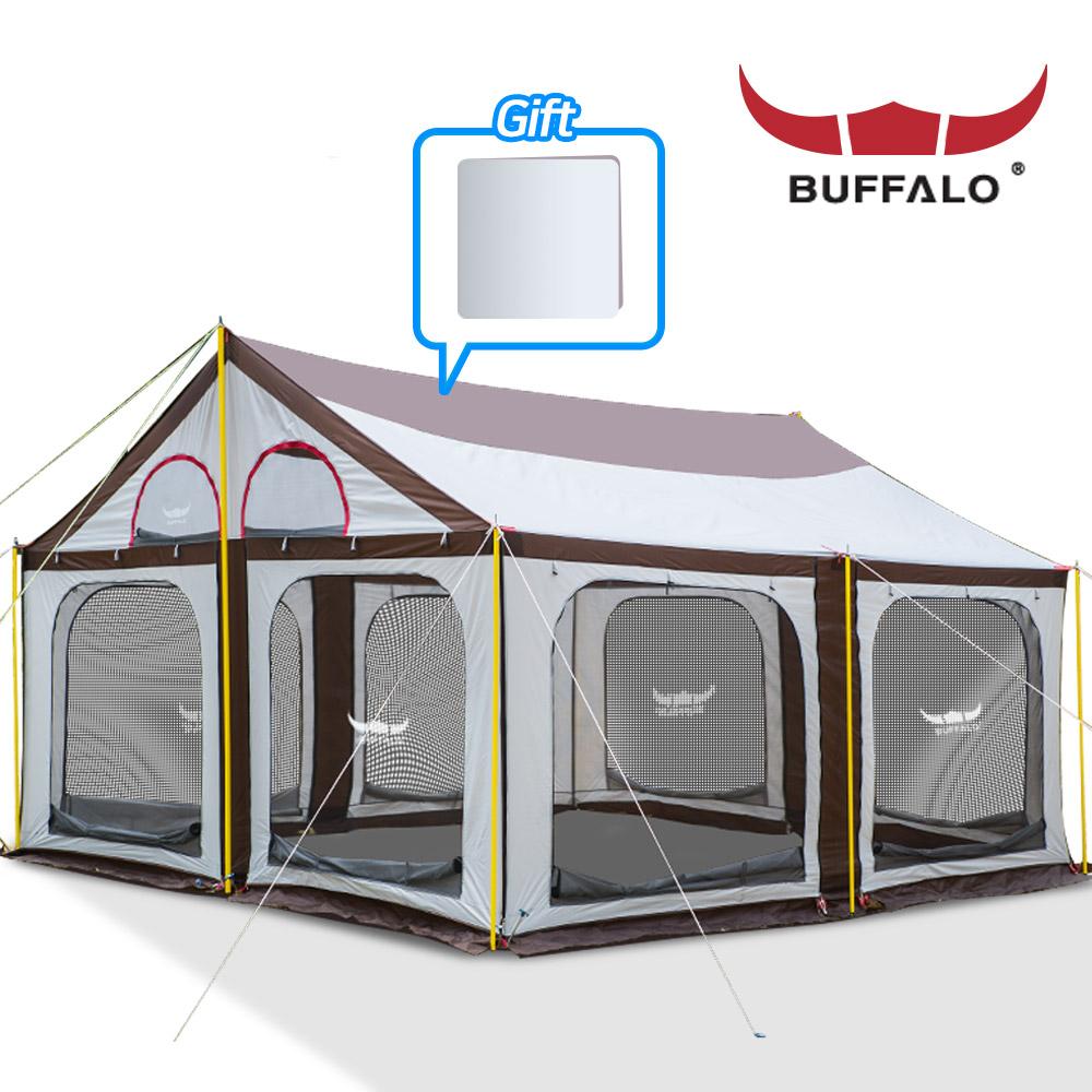 버팔로 올뉴 타프스크린 하우스 초대형 내수압3000mm, 버팔로 올 뉴 타프스크린 하우스, 상세설명 참조