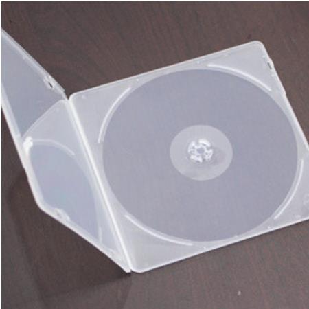 국내산케이스 CD DVD 연질케이스 1P 50장, 시디연질케이스1P