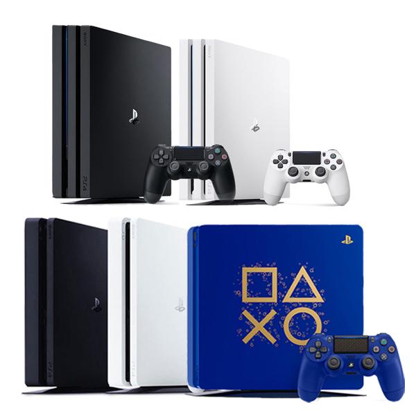 PS4 PRO 프로 1TB Slim 500GB 화이트 블랙 블루 모음., PS4 Slim 500GB 블랙