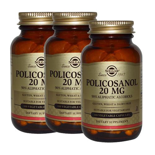솔가 폴리코사놀 20mg 100캡슐X3, 3개