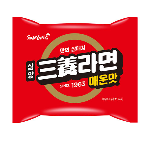 삼양 기획) 삼양라면 매운맛 기획 (6봉) 4입 박스, 24개입