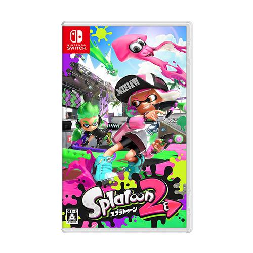 닌텐도 스위치 스플래툰2 Splatoon 2 게임 영문판, 단품