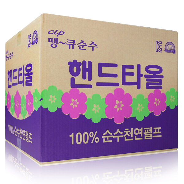 땡큐 천연펄프 핸드타올5000매, 1개