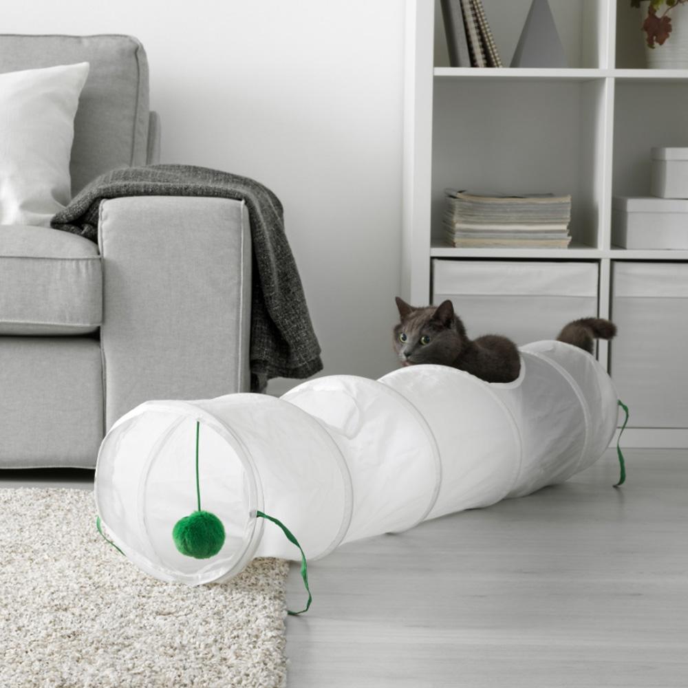 이케아 LURVIG 루르비그 고양이 플레이터널, 503.636.54, 1개