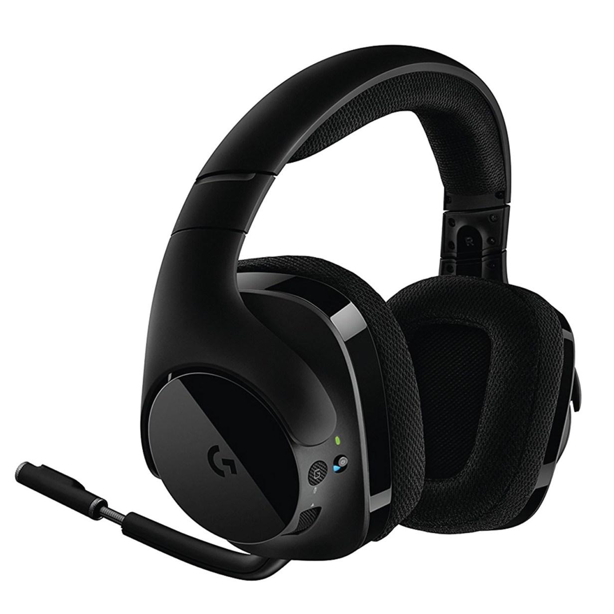 로지텍 서라운드사운드 게임 헤드셋(G933 G633 G533 G PRO)유 무선 새상품 정품 미국직배송, 블랙(무선)