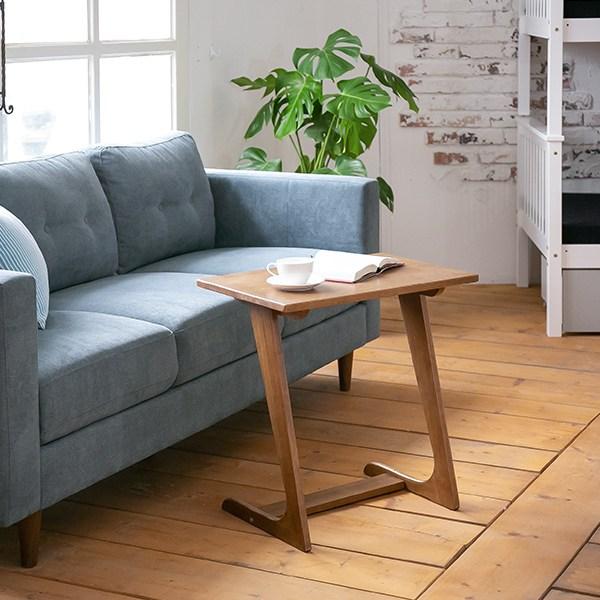 네츄럴 홈 사이드테이블 소파 테이블, 선택1_엔틱 우드칼라