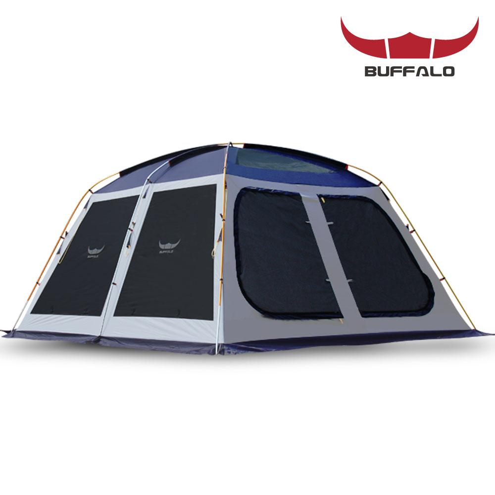 버팔로 스크린 쉘터 텐트 6~7인용, 네이비