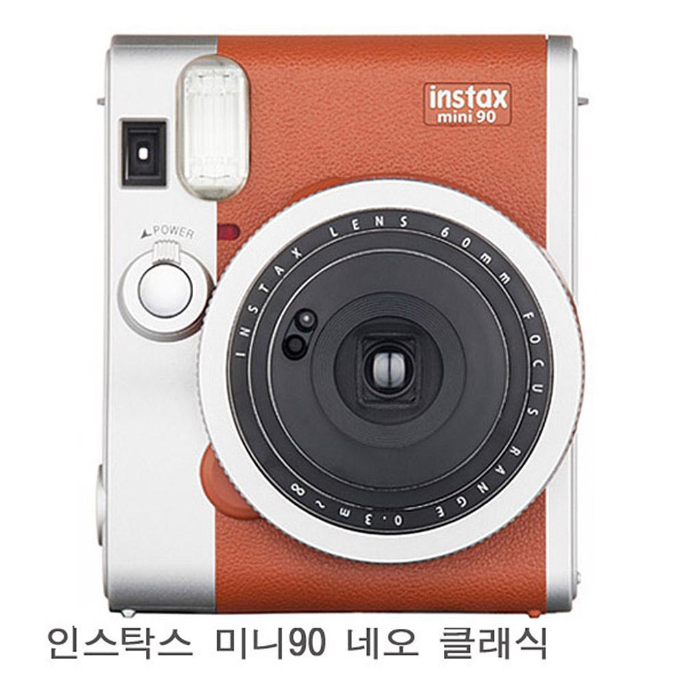 인스탁스 미니 90 즉석카메라, 단일상품, 브라운