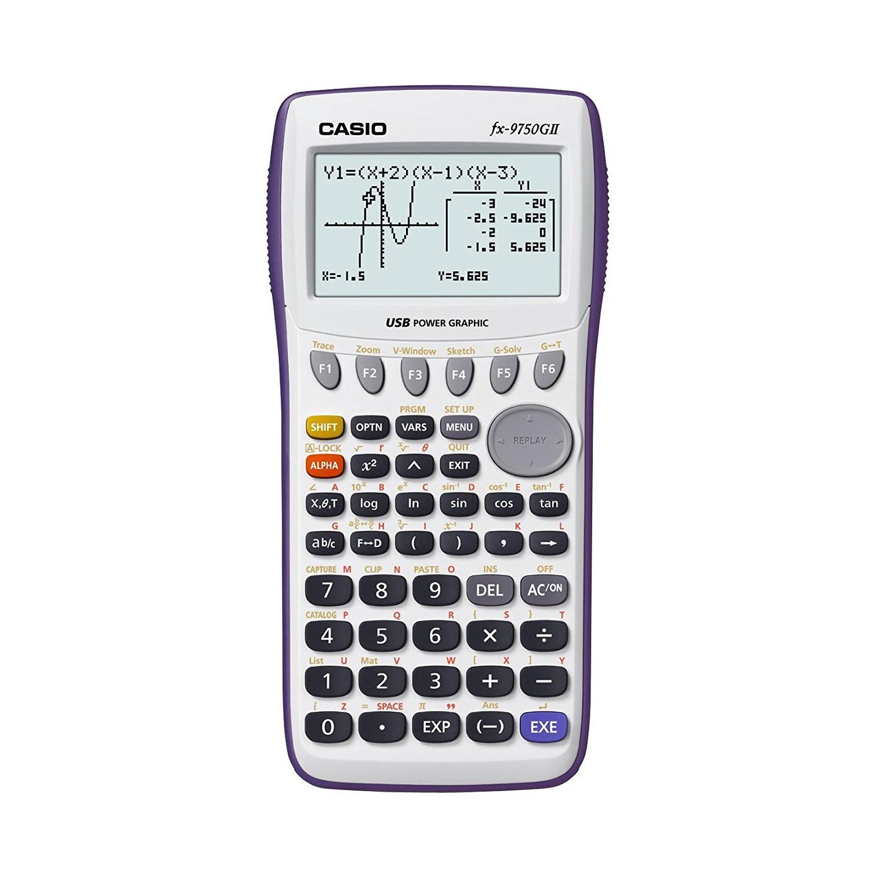 [리퍼상품] 카시오 공학용계산기 FX-9750G II