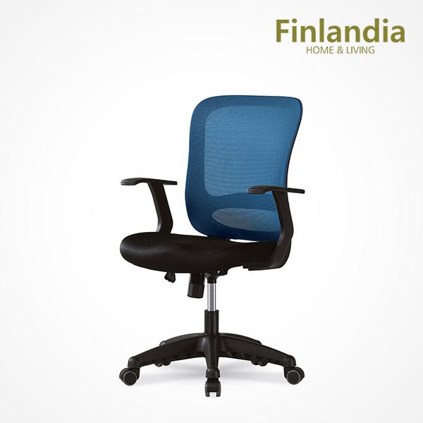 핀란디아 데이브 책상의자 학생의자/사무용의자, 블루