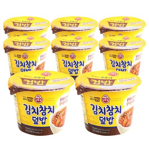 오뚜기 컵밥 김치참치덮밥, 8개, 280g
