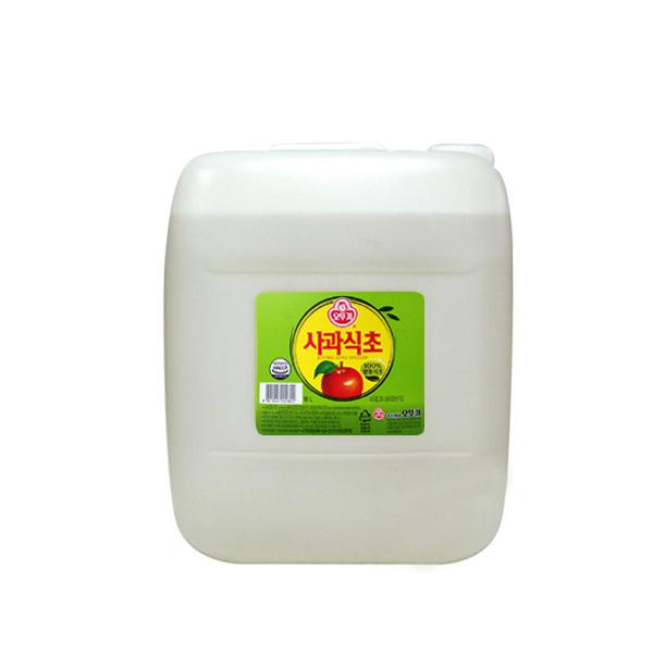 오뚜기 사과식초 18L, 1개
