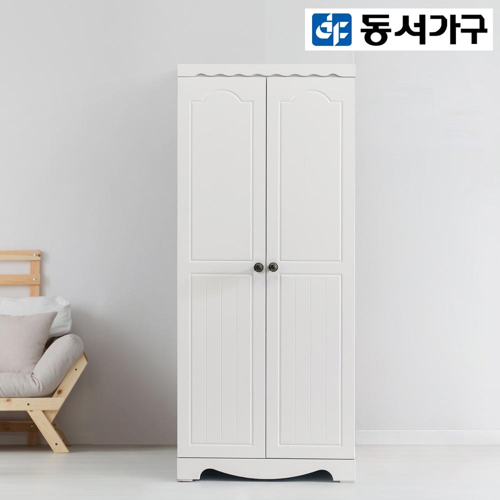 동서가구 다이노 800 옷장, 화이트_이불장[옷봉+선반]