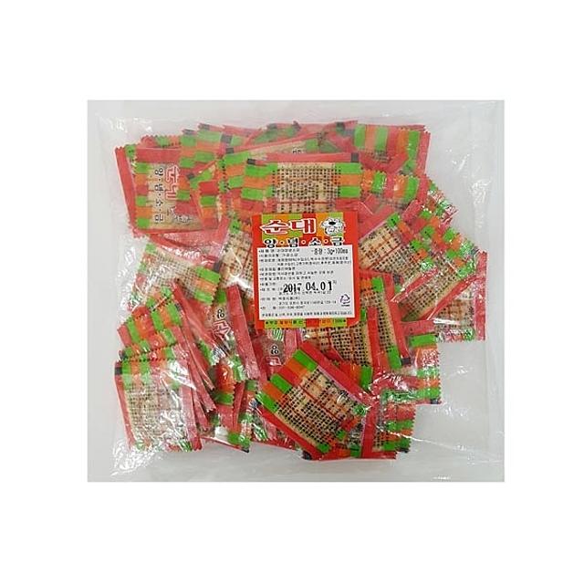 국산 양념소금 식기세척기용세제 주방세제 생활용품 소금 맛죤식품 순대양념소금3g, 1