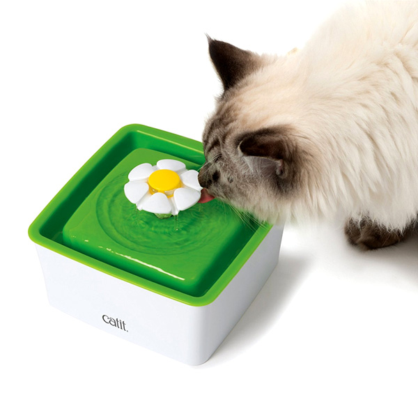 팜파크 하겐 고양이 미니 플라워정수기 1.5L 고양이정수기, 1개