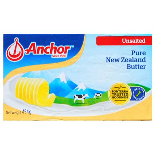 앵커버터 무가염 버터, 1개입, 454g