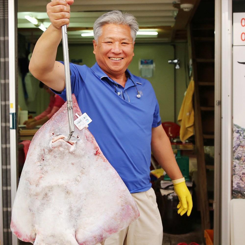 삿갓유통 알싸하게 삭힌 국산 참홍어 (흑산도 수협 중매인 출신) 홍어, 1박스, 1kg