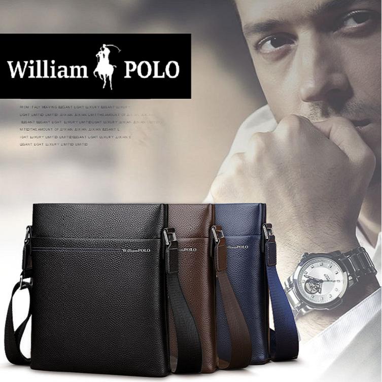 WilliamPOLO(윌리엄폴로) 001D 남성크로스백 남자 손가방 맨스백 클러치백 서류[제이앤티]